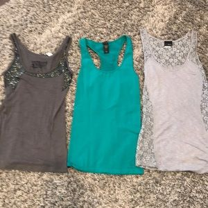 3 Women's Tanks